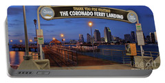 The Coronado Ferry Landing Portable Battery Charger