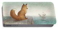 The Day The Antlered Ship Arrived Portable Battery Charger