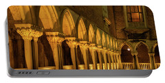 Portable Battery Charger featuring the photograph The Doge's Palace -- Venice by Tim Bryan