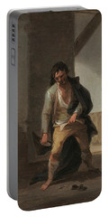 'the Drunkard'. Ca. 1835. Oil On Cardboard. Portable Battery Charger