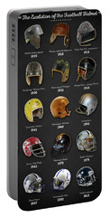 The Evolution Of The Football Helmet Portable Battery Charger