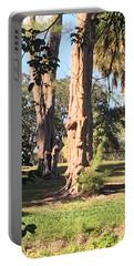 The Face In The Tree Portable Battery Charger