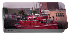 The Fireboat Edward M. Cotter. Portable Battery Charger