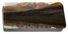 Portable Battery Charger featuring the photograph The First Hint Of Winter At Loch Cill Chriosd by Stephen Taylor