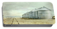 The Grain Bins At Taber Portable Battery Charger