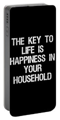 The Key To Life Is Happiness In Your Household Portable Battery Charger