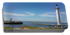 The Lighthouse Biloxi Ms Portable Battery Charger