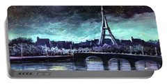 The Lights Of Paris Portable Battery Charger