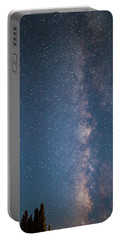 The Milky Way In Arizona Portable Battery Charger