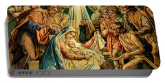 The Nativity, Madonna And Child, New Testament Portable Battery Charger