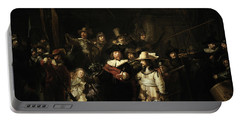 The Night Watch, 1642 Portable Battery Charger