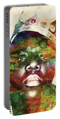 The Notorious Big Colorful Watercolor Portable Battery Charger