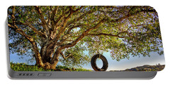 The Old Tire Swing Portable Battery Charger