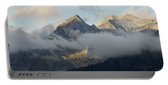 Portable Battery Charger featuring the photograph The Ossau Valley  by Stephen Taylor