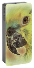 Portable Battery Charger featuring the photograph The Parrot Sketch by Leigh Kemp