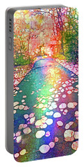 The Path Where Rainbows Meet Portable Battery Charger