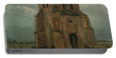 The Peasants Churchyard, The Old Church Tower Portable Battery Charger