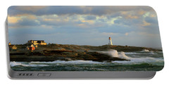 The Peggy's Cove Seascape Portable Battery Charger