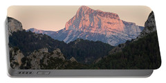 Portable Battery Charger featuring the photograph The Pena Montanesa by Stephen Taylor
