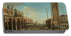 The Piazza San Marco In Venice Portable Battery Charger