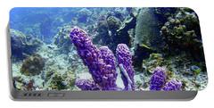 The Purple Sponge Portable Battery Charger