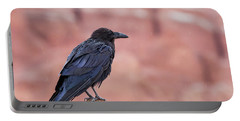 The Rainy Raven Portable Battery Charger