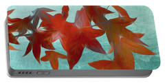 The Red Leaves Portable Battery Charger