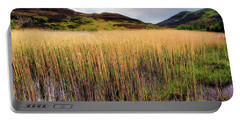 The Reeds Of Lochan An Daim - Scotland - Perthshire Portable Battery Charger