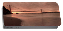 Portable Battery Charger featuring the photograph The Rising- by JD Mims