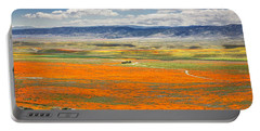 The Road Through The Poppies 2 Portable Battery Charger