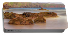 The Sea Fog Of St Cyrus - Scotland - Rock Hall Fishing Station Portable Battery Charger