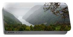 The Sil River In Ourense, Galicia, Spain Portable Battery Charger