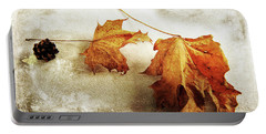 Portable Battery Charger featuring the photograph The Sound Of Autumn by Randi Grace Nilsberg