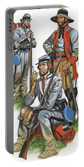 The Southern Army In The American Civil War Portable Battery Charger