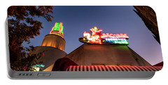 Portable Battery Charger featuring the photograph The Tower- by JD Mims