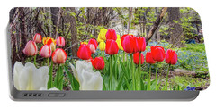 The Tulips Are Out. Portable Battery Charger