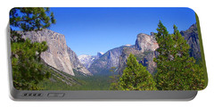The Valley Of Inspiration-yosemite Portable Battery Charger