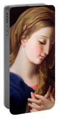 The Virgin Annunciate Portable Battery Charger