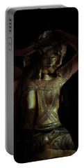 Portable Battery Charger featuring the photograph The Woman Beneath by Marianna Mills