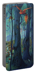 The World Between The Trees Portable Battery Charger