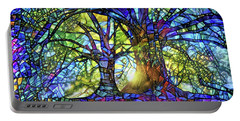 The Worship Of Trees Portable Battery Charger