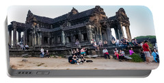 They Come To See Angkor Wat, Cambodia Portable Battery Charger