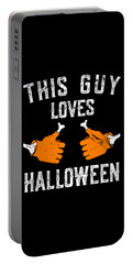 This Guy Loves Halloween Portable Battery Charger