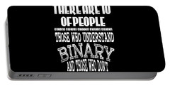 This Is A Funny Perfect Gift For Computer Users Geekswho Can Understand Binary And Those Who Dont Portable Battery Charger