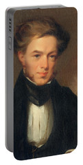 Portrait Of Thomas Ustick Walter, 1835 Portable Battery Charger