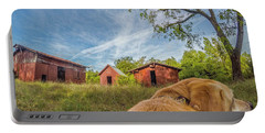 Thornburg Barns By Photo Dog Jackson Portable Battery Charger