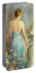 Abstract Figurative Paintings Portable Battery Chargers