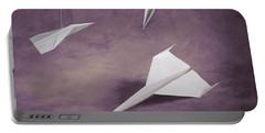 Three Paper Airplanes Portable Battery Charger