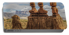 Three Sisters Hoodoos Goblin Valley State Park Portable Battery Charger