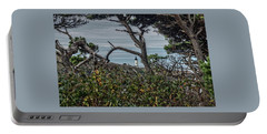 Portable Battery Charger featuring the photograph Through The Foliage by Thom Zehrfeld